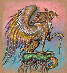 """Wizard Gryphon"" par Alvia Alcedo"