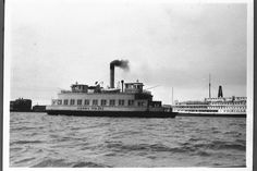 Ferry Boat, Rhode Island, Pacific Northwest, North West, East Coast, Seattle, Nyc, City, 1940s