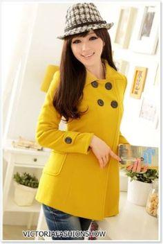 casaco amarelo