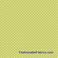 David Textiles micro dots on lime green by BlueCraneQuiltShop, $8.00