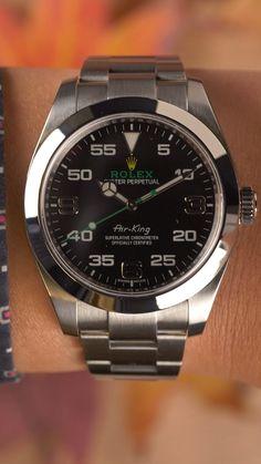 #rolexairking #116900 #rolexwatches Rolex Air King, Expensive Watches, Most Expensive, Used Rolex, Omega Watch, Rolex Watches, Men, Accessories, Fashion