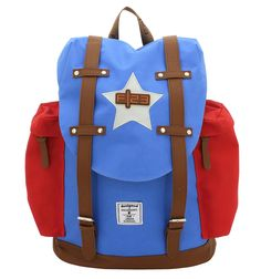 Rucksack F|23 Star blau/rot #F23 #Friedrich23 #Star #Palm #Check #Holiday