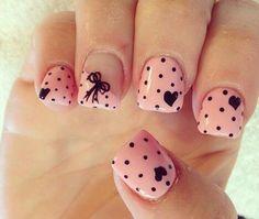 Cute nail design:
