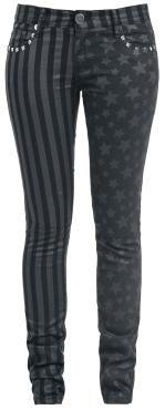 Stars and Stripes (Slim Fit) - Pantalon en toile par Full Volume by EMP