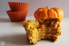 Healthy Pumpkin Pie Cups Recipe Desserts, Breakfast and Brunch with oats, unsweetened applesauce, almond flour, honey, vanilla extract, sea salt, pumpkin, low-fat cottage cheese, unsweetened coconut milk, vanilla whey protein powder, eggs, cinnamon, pumpkin pie spice, stevia, salt