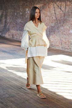 The Row womenswear, spring/summer 15, New York Fashion Week