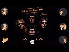 We Will Rock You (Queen) - Percusión Corporal. - YouTube Queen Bohemian Rhapsody, We Will Rock You, Stretch Bands, Elementary Music, Music Class, Your Music, Drums, Youtube, How To Plan
