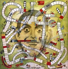 """Game Board,"""" Eddie Cantor's Tell it to the Judge"""" Old Board Games, Games Box, Old Games, Games For Kids, Games To Play, Game Boards, Vintage Games, Vintage Toys, Retro Toys"""
