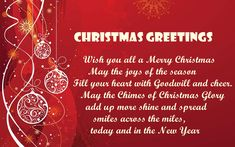 Merry Christmas Messages For Family and Friends, Christmas Msg For Business, Clients, Teachers, Employees with Greetings Cards Wishes Quotes Images 2019