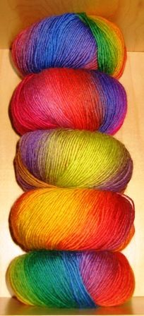 yarn!...Beautiful...where do I find yarn varieties like this? I'd like to know....