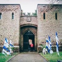 Get married in a castle?? Exeter's Mamhead Castle Wedding Fair Inspiration...