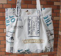 Handmade Shipping Bag Large Bag Should Bag 1614 -- For more information, visit image link.