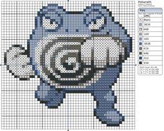 62 - Poliwrath by Makibird-Stitching.deviantart.com on @deviantART