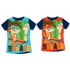 Camiseta Phineas y Ferd verano 2016