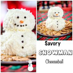 This ranch snowman cheeseball is as adorable as it is delicious. This ranch snowman cheeseball makes the perfect treat for any holiday party or get together