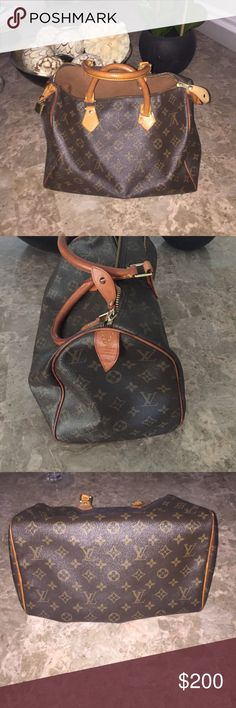 Louis Vuitton speedy 30 Pre loved 12x8 Louis Vuitton Bags
