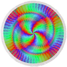 Rainbow Swirl Round Beach Towel by Lenka Rottova. The beach towel is in diameter and made from polyester fabric. Beach Towel Bag, Rainbow Swirl, Summer Essentials, Towels, Technology, Fabric, Bags, Tech, Tejido