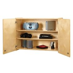 0945JC Jonti-Craft¨ Wall Cabinet - Lockable