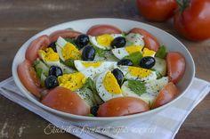 Insalata sfiziosa patate e uova sode