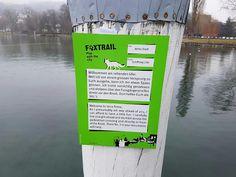 5hugs: gewesen: auf dem Foxtrail in Luzern