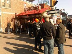 Family Day is a busy day for the BeaverTails store at Byward Market!  Courtesy @ctvottawa