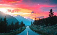 Hill Station, Road, sunset, highway wallpaper