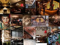 MAMA SAN BALI - CONCEPT & INTERIOR DESIGN by Caroline Dumergue, via Behance