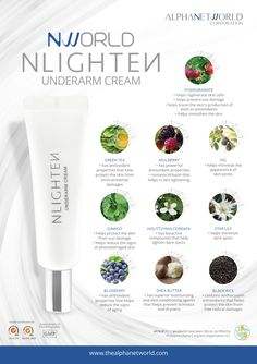 NLIGHTEN Underarm Cream promotes instant brightening effect and through its special actives, it helps maintain a soft underarm and effectively helps in reducing dark spots and other visible hyperpigmentation. Nlighten Products, Lighten Skin, Skin Care Tools, Eye Gel, Skin Care Regimen, Pomegranate, Shea Butter, Underarm, The Balm
