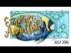 "Speed Color- Copic & Prismacolor ""Emperor Angelfish"" by http://VanillaArts.com - YouTube"
