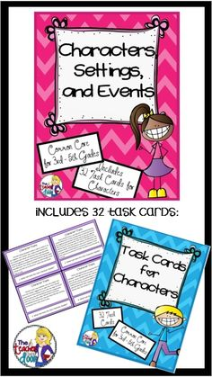 This 48 page set is loaded with 32 task cards, two foldables, loads of graphic organizers, a poster, practice passages and activities to keep your students fully engaged! (TpT Resource)