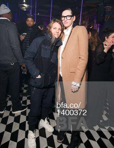 Courtney Crangi, Jenna Lyons at PRABAL GURUNG & PUBLIC SCHOOL A/W 2015 Fashion Show After Party. #BFAnyc