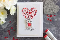 Simple Valentine's Mini Card