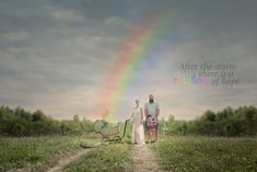 Rainbow baby newborn pregnancy announcement. vintage stroller maternity gown rainbow baby sibling family by SBurritt Photography Canada www.sburrittphotography.com