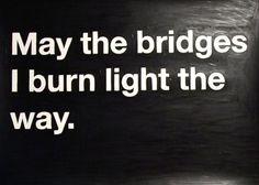 Piccsy :: burning bridges