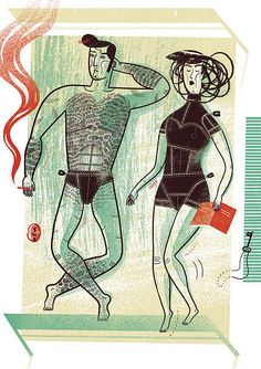 Selected illustration for Newsweek Magazine - polish edition. Poland, Illustrators, Eye Candy, Behance, Magazine, Creative, Image, Google Search, Random