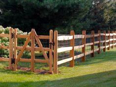 Split Rail Fence Design Ideas, GATE | Traditional ...