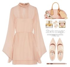 """Blush"" by yexyka ❤ liked on Polyvore featuring Emilio Pucci, Sonia Rykiel, Nicole, Miu Miu, Charlotte Tilbury and Stila"