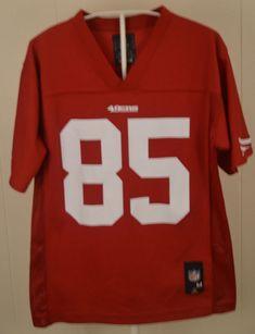 San Francisco 49ers Jersey  85 Vernon Davis Youth Medium 10-12 NFL Team  Apparel 66324ae07