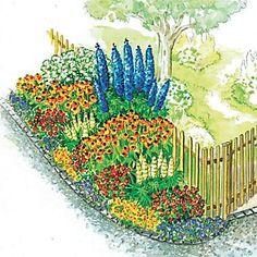 Zum Nachpflanzen: Schöner Rahmen für den ländlichen Garten