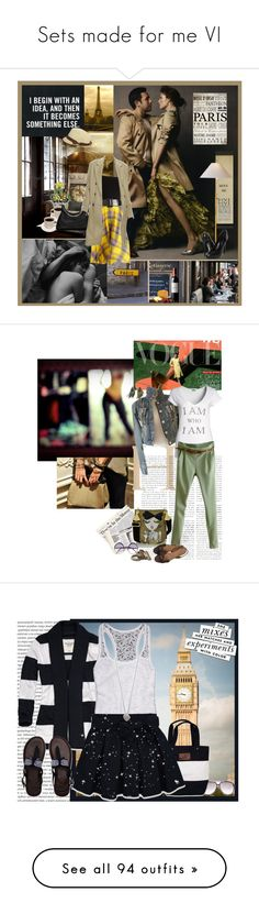 """Sets made for me VI"" by purplecherryblossom ❤ liked on Polyvore featuring Gucci, Wet Seal, Ralph Lauren Collection, Retrò, Diesel, Love Moschino, Hermès, Cutler and Gross, Charlotte Russe and Oris"
