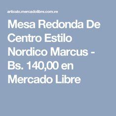 Mesa Redonda De Centro Estilo Nordico Marcus - Bs. 140,00 en Mercado Libre Cupcakes, Base, Mesa Redonda, Nordic Style, Free Market, Mesas, Venezuela, Centre, Cupcake