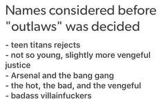 Redhood And The Outlaws, Avatar Movie, Cw Dc, Dc Tv Shows, Couples Comics, Superhero Villains, Im Batman, Nerd Love, Dc Characters