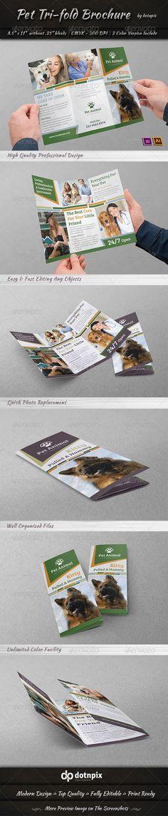 Pet Tri-Fold Brochure