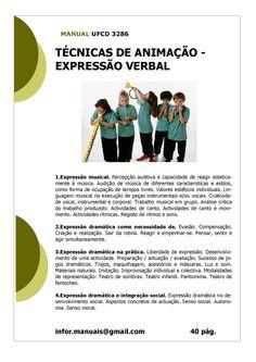 ufcd 3286 - Técnicas de animação  expressão verbal