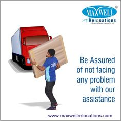 Our Experts use best equipment's as well as work in a systematic way to keep you away of all kinds of physical efforts. #maxwell #packersandmovers