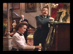 You and I (duet) Meet Me In St. Louis - YouTube.   My favorite part of the movie is this tender scene as the family,  formerly quarreling, reunites in the parlour.
