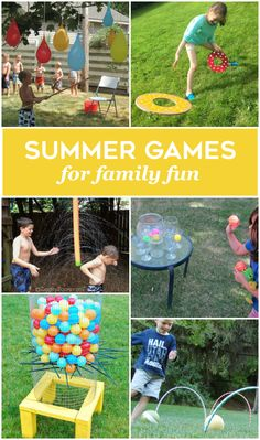 24 Summer Games for