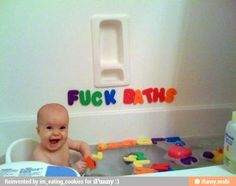 Fuck baths...make a scrap book of pictures with hidden inappropriate messages and give it to your kid on their 18th birthday