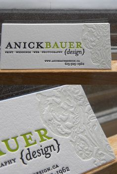 42 really cool business cards and designs!