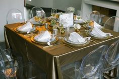 Sweetgrass Social Weddings. Styled Shoot: A Giving Back Wedding. Silver and Gold table scape.